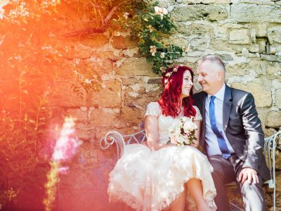 Upcote Barn wedding
